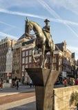 Königin Wilhelmina durch Theresia van Der Pant, Amsterdam, die Niederlande lizenzfreies stockfoto