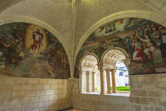 Königliche Abtei von Fontevraud Stockfotografie