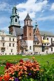 Königliche Archcathedral-Basilika von Heiligen Stanislaus und Wenceslaus auf dem Wawel-Hügel, Krakau, Polen Lizenzfreies Stockfoto
