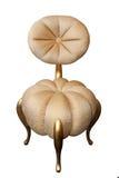 königliche Art der Goldstuhl-Weinlese, schöne teure Möbel Lizenzfreie Stockbilder