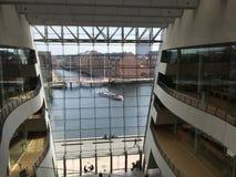 Königliche Bibliothek von Kopenhagen Stockfotos