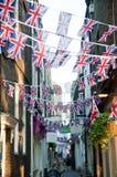 Königliche Flaggen der Hochzeits-2011 Lizenzfreie Stockfotografie
