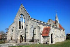 Königliche Garnison-Kirche, Portsmouth Stockbild