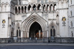 Königliche Gerichtshöfe, London Stockfoto