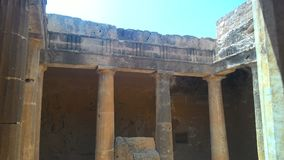 Königliche Gräber einer alten Zivilisation lizenzfreies stockbild