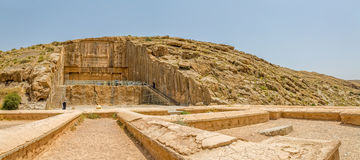 Königliche Gräber Persepolis Stockbild