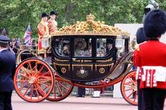 Königliche Hochzeit 2011 Stockbild