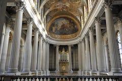 Königliche Kapelle von Versailles, Frankreich. stockbilder