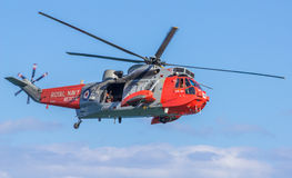 Königliche Marine Sea King Helicopter stockbild