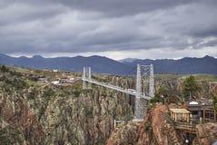 Königliche Schlucht-Brücke Lizenzfreie Stockfotos