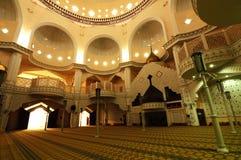 Königliche Stadtmoschee a Klangs K ein Masjid Bandar Diraja Klang stockfotografie
