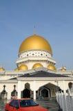 Königliche Stadtmoschee a Klangs K ein Masjid Bandar Diraja Klang stockfotos