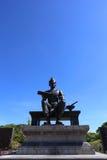 Königliche Statue von König Ramkhamhaeng The Great Stockbilder