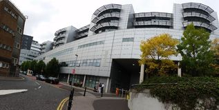 Königliche Victoria Hospital Belfast Stockfotografie