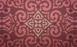 Königliche Weinleseelement-Hintergrundwand Lizenzfreies Stockfoto