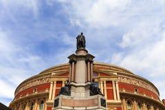 Königlicher Albert Hall, ein Konzertsaal eingeweiht dem Ehemann der Königin Victoria, London, Vereinigtes Königreich Lizenzfreie Stockfotos