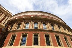 Königlicher Albert Hall, ein Konzertsaal eingeweiht dem Ehemann der Königin Victoria, London, Vereinigtes Königreich Stockfotografie