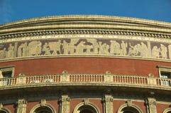 Königlicher Albert Hall, Fries Stockbild