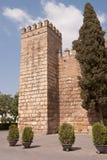 Königlicher Alcazar von Sevilla Stockbild
