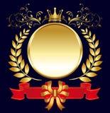 Königlicher Aufkleber Stockbild