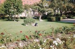Königlicher Bibliotheks-Garten, KOPENHAGEN, DÄNEMARK stockfotografie