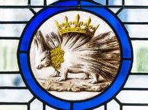 Königlicher Blazon Stockbild