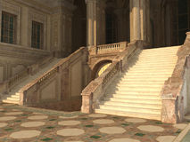 Königlicher Eingang lizenzfreie abbildung