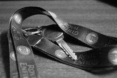 Königlicher Enfield-Schlüssel lizenzfreies stockfoto