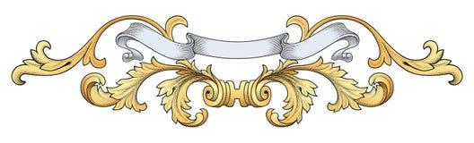 Königlicher Fahnenvektor lizenzfreie abbildung