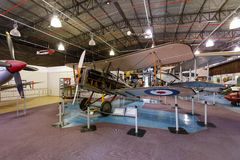 Königlicher Flugzeugpfadfinder experimentelles SE5a Stockfoto
