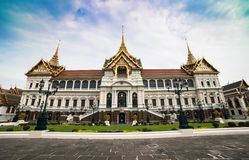 Königlicher großartiger Palast in Bangkok Lizenzfreies Stockfoto
