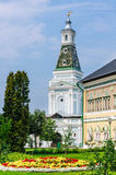 Königlicher Hallen- und Natronsalpeterturm St. Sergius Lavra der Heiligen Dreifaltigkeit Sergiev Posad Stockbilder