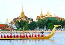 Königlicher Lastkahn Suphannahongse. Stockbild