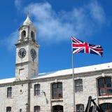 Königlicher Marinewerft Bermuda Clocktower Lizenzfreie Stockfotografie