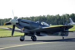 Königlicher norwegischer Luftwaffen-MarineSpitfire Lizenzfreies Stockfoto