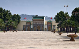 Königlicher Palast in Fes Lizenzfreie Stockbilder