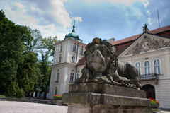 Königlicher Palast im nieborow Lizenzfreies Stockbild