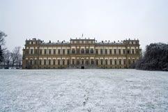 Königlicher Palast im Winter stockfotografie