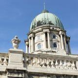 Königlicher Palast (Kuppel) in Budapest lizenzfreie stockfotografie