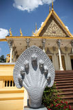 Königlicher Palast in Phnom Penh Stockfotografie