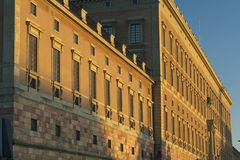 Königlicher Palast in Schweden Lizenzfreie Stockbilder