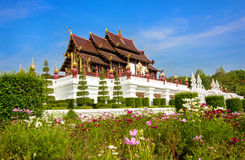 Königlicher Park Rajapruek in Chiang Mai Lizenzfreie Stockfotos