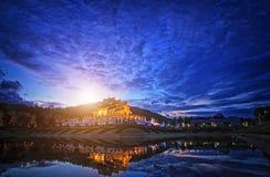 Königlicher Park Rajapruek in Chiang Mai Lizenzfreies Stockbild