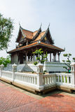 Königlicher Pavillon Santichaiprakan Stockfotos