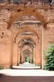 Königlicher Stall in Fez, Marokko Stockbild