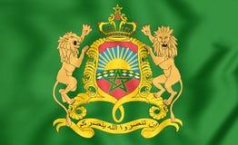 Königlicher Standard von Marokko Lizenzfreie Stockfotos