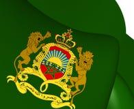 Königlicher Standard von Marokko Lizenzfreie Stockbilder