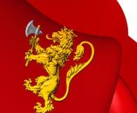 Königlicher Standard von Norwegen Stockfotos