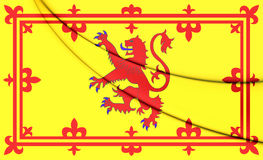 Königlicher Standard von Schottland Lizenzfreies Stockfoto