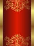 Königlicher Teppich stock abbildung